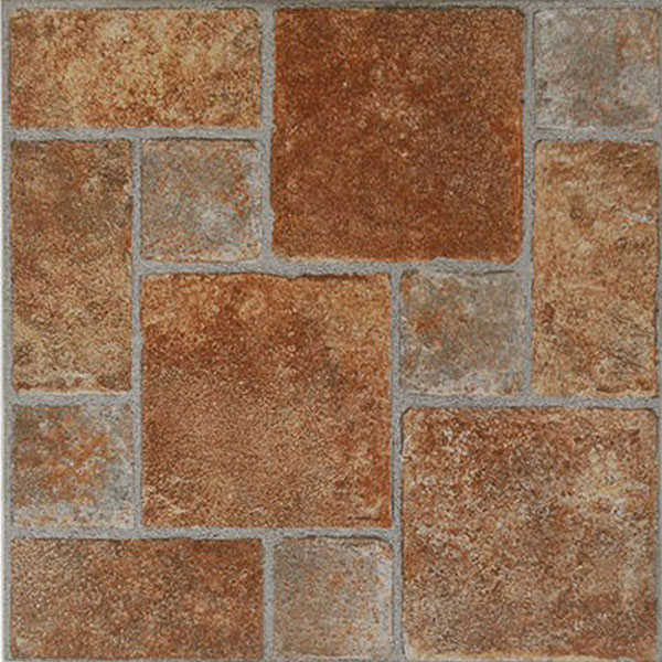 Home Dynamix Flooring: Dynamix Vinyl Tile: KD0208 Brick: 1 Box 20 Square Feet